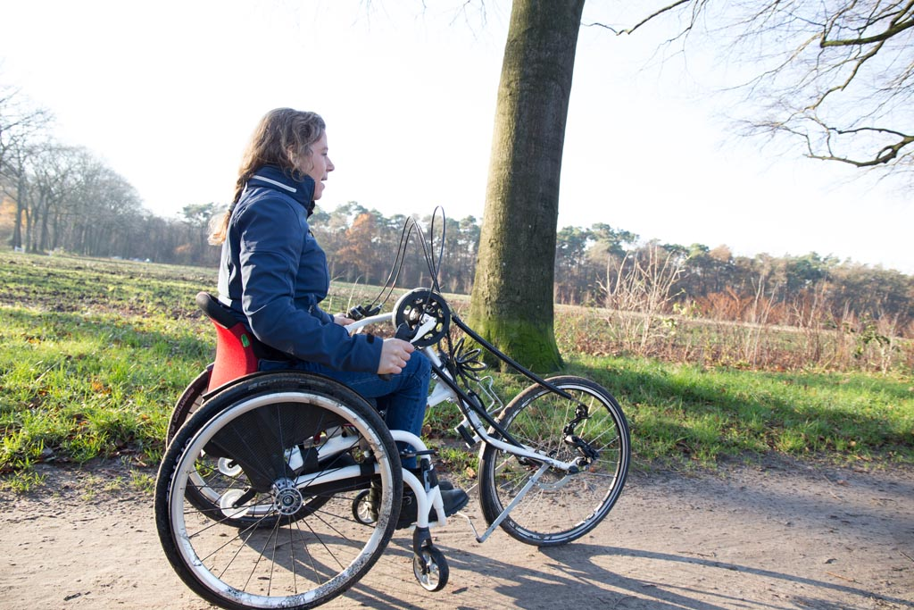 Laura de Vaan handbike O4 Wheelchairs