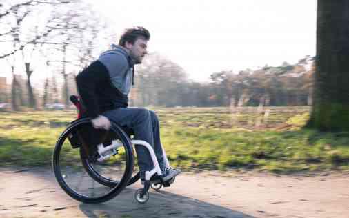 Met de rolstoel naar buiten; Hopper; O4; rolstoel zelfstandigheid